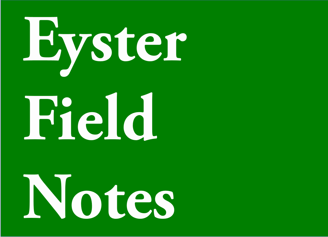 Eyster Field Notes logo